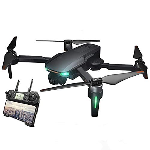 DCLINA Drone Pieghevole 5G WiFi FPV Drone con Fotocamera 4K Motore brushless 5Ghz FPV Trasmissione Ritorno Automatico a casa Versione Doppia Batteria