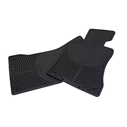 BMW 82550151186 All Weather Floor Mats for E65/E66 7 Series (Set of 2 Front Mats)
