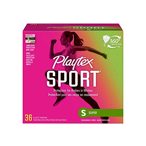 Playtex Sport Tampons with Flex-Fit Technology, Super, Unscented - 36 Count by Playtex