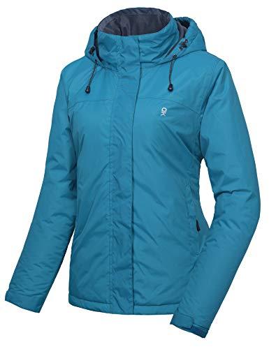 Little Donkey Andy - Chaqueta de esquí para mujer, impermeable, cálida, protección contra el viento, la nieve y la lluvia, ideal para invierno