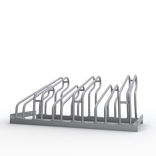 Fahrradständer f. 6 Fahrräder (erweiterbar) Ständer verzinkt