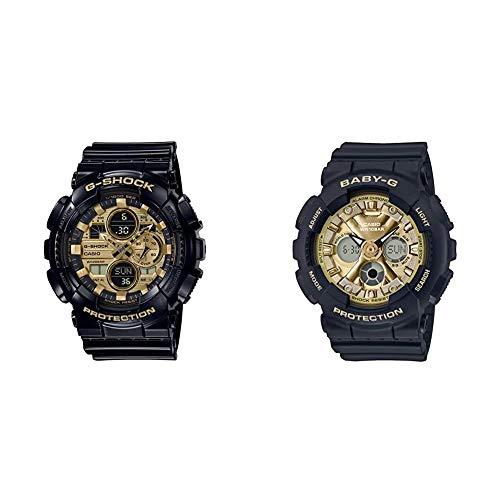 [カシオ] 腕時計 ジーショック×ベビージー ペアセット GA-140GB-1A1JF / BA-130-1A3JF