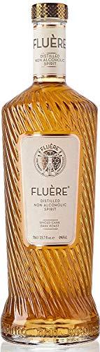 FLUÈRE - Alkoholfreie Rum-Alternative, alkoholfreier destillierter Spiritus, Spiced Cane Dark Roast, 70 cl