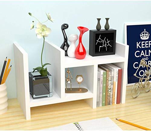 REGAL Bureau Petite étagère, Bureau étagère bibliothèque Bureau Rangement étagère Petite étagère Bureau Combinaison étagère,White