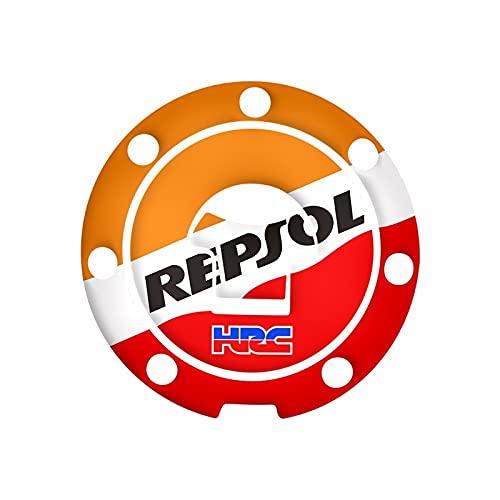 Para H-onda CBR RVF VFR CBR 250 400 500 600 1000 1100 CBR1000RR 3D calcomanía de gas aceite tanque de combustible protector adhesivo para coche (tamaño: 2)
