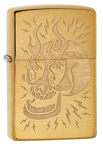 Imagen del productoZippo Mechero de latón, diseño Individual, tamaño de Bolsillo