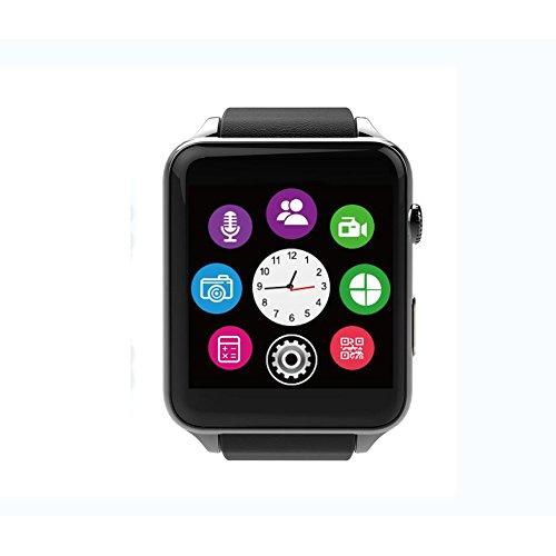LIRONG hartslag Smart Watch, Bluetooth Horloge Smart Wear Informatie Push Health Monitor Sport Tracking Toepasselijk Platform Volledig compatibel