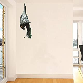 Malayan Flying Fox Fruit Bat Just Hanging Out Wall Decal - 8