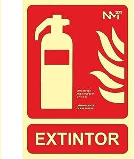 Placa extintor homologada 21x30 cm