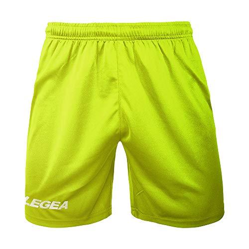 LEGEA Taipei, Homme, Shorts, P202, Jaune Fluo, XS