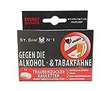 ST. SIN N°1 Schachtel mit 8 Kauletten gegen die ALKOHOLFAHNE und TABAKATEM