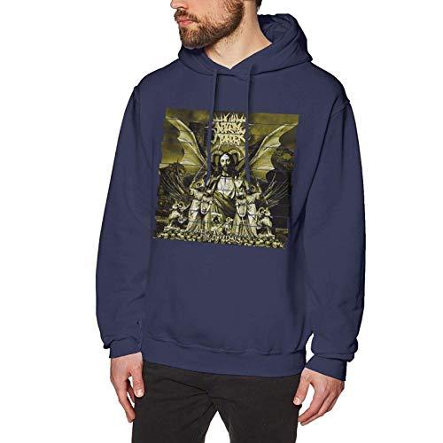 XCNGG Sudadera con Capucha para Hombre Suéter para Hombre Men 3D Design Thy Art is Murder Graphic Pullover Hoodies