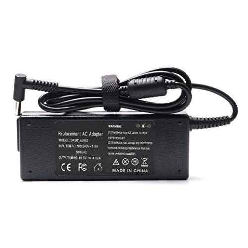 Skyvast 90W HP Laptop Charger, Replacement Adapter Power Supply for HP Pavilion 11 14 15 17 / Envy 15 17 M6 M7 / Stream 11 13 14 (19.5V-4.62A 90W/ 3.33A 65W /2.31A 45W)