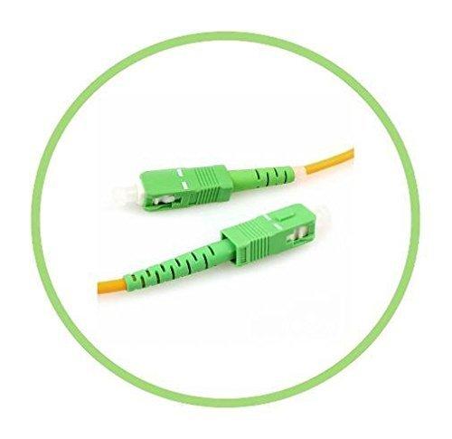 FiberShack - 3M / 9.84ft - SC/APC to SC/APC - Single Mode - Simplex -...
