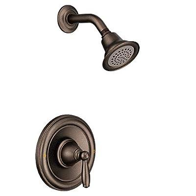 Moen T2152EPORB Brantford Posi-Temp Shower Trim Kit Valve Required, Oil-Rubbed Bronze