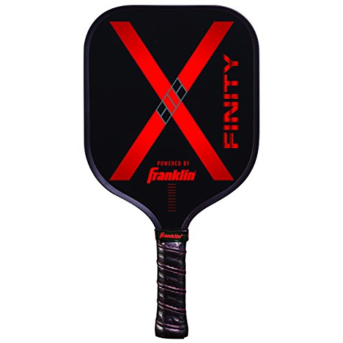Franklin Sports Pickleball Paddle - Nomex Pickleball Racket - X Finity Performance Paddle - Red - USA Pickleball (USAPA) Approved