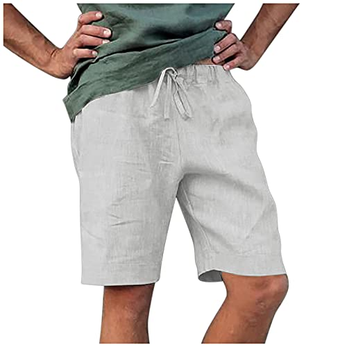 Pantalones Cortos Holgados de los Hombres de los Monos Deportivos Casuales de los Hombres Verano Transpirable Shorts de Running Gimnasio Jogging Training Shorts