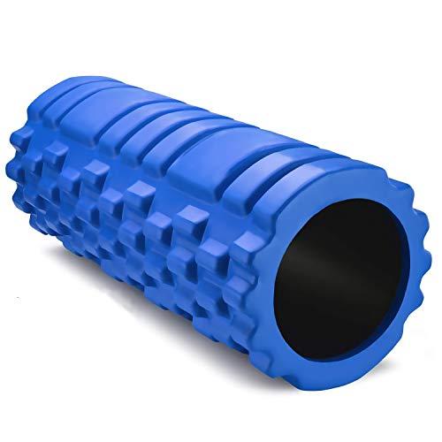 Rodillo de Espuma Foam Roller Pequeño Pilates para Terapia de Masaje – Para Muscular Fitness Pilates Yoga - La Mejor Herramienta de Masaje para Todo Deportivo - Tejido Profundo Liberación Miofascial