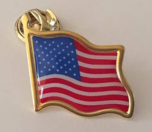 USA Flagge Metall Pin Anstecker Amerikanische Flagge Stars n Stripes