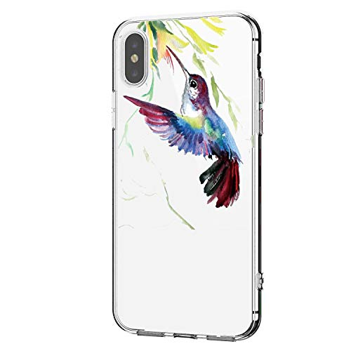 Case Kompatibel für iPhone XR Hülle Transparent Handyhülle Weiche Silikon Gel TPU Bumper Durchsichtig Schutzhülle Kreativ Muster Handytasche case für iPhone XR