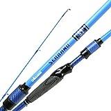 Okuma Serrano Carbon Technique Specific Bass Rods- SRN-S-721MH, Blue, 7'2'