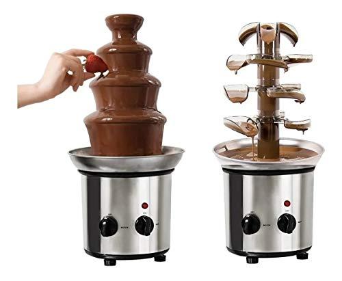La mejor comparación de Fuentes de chocolate los más recomendados. 6