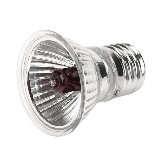 Meiyya Luz de calefacción para Reptiles, Bombilla de luz UVA UVB de Espectro Completo para Mascotas con Forma de Serpiente, lámpara de luz Solar 2.0 para arañas, Tortugas, Serpientes,(35W)