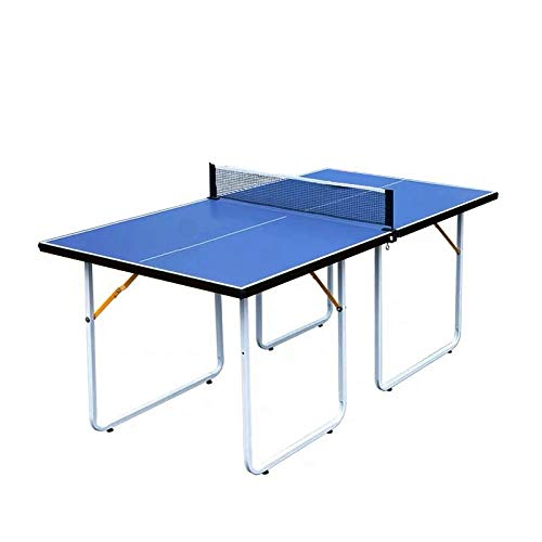 Buy Folding Table Tennis Table Size 71.65x35.8x29.9 inch Ping Pong Table with Net Set Easy Assembly
