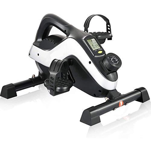 zvcv Ejercitador de Pedal-Stepper para Fitness en casa y en la Oficina con LCD y para Pierna