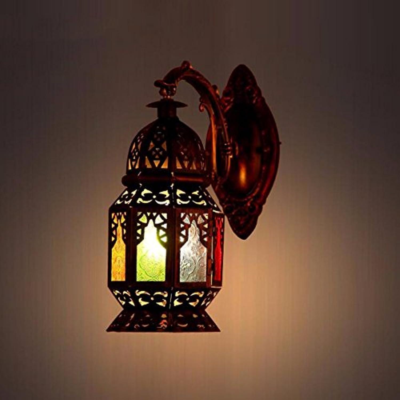 StiefelU LED Wandleuchte nach oben und unten Wandleuchten Mediterranen antiken Eisen Wandleuchten off road Light Bar leuchten Restaurant mit Terrasse.
