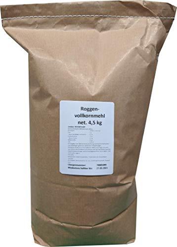 4,5 kg Roggenvollkornmehl