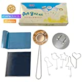 Korean Sugar Candy Dalgona Stainless Cooking Set (Dalgona Fancy Sticker included)