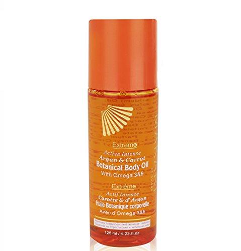 Makari Extreme Botanical BODY Oil 4.23 fl. Oz. – Moisturizing, Toning & Anti-Aging Body Treatment With Omega 3 & 6, Argan, Carrot & Soybean Oils – Hydrating Formula for Wrinkles & Dryness