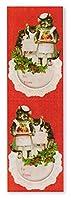 パンチスタジオ 【クリスマス】 ステッカー シール (猫の手紙) 53501R