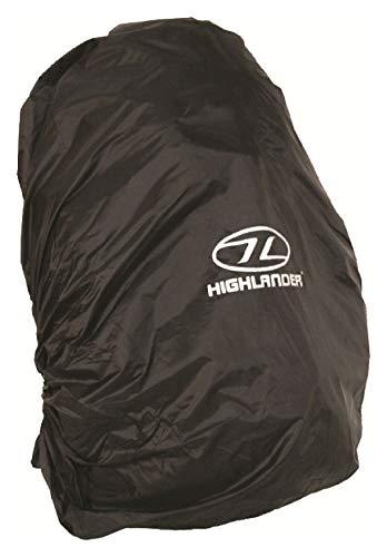 Housse de sac à dos Noir – L – Compatible avec 60–70 litre Packs
