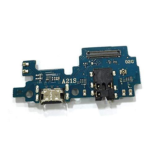 ZHOUZHONGLAN Tablero de carga principal del puerto USB para Samsung Galaxy A21S A217F USB carga Dock puerto Flex cable piezas de reparación (color : calidad)
