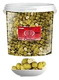 Aceitunas Verdes Aliñadas con Ajo (Cubo)