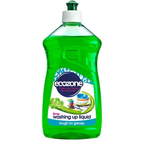 Ecozone, detersivo Liquido, Colore: Lime, 8 x 500 ml