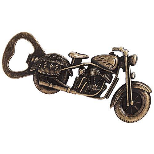 Apribottiglie per Motociclette, Apribottiglie per Moto in Metallo, Apribottiglie per Motociclette in Metallo per Bar Party, Gioco da Bere, Regali per Uomini