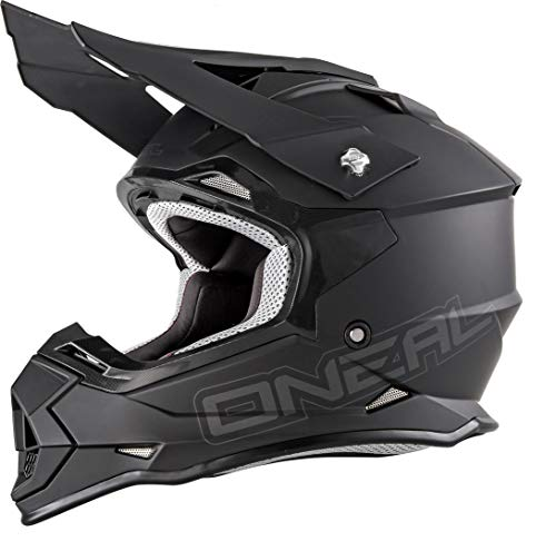 O'NEAL 2 Series RL Motocross Enduro MTB Helm Flat schwarz 2020 Oneal: Größe: M (57-58cm)