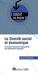 Le comité social et économique (CSE) de François Duquesne