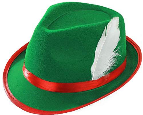 ILOVEFANCYDRESS Sombrero DE BAVARO Verde Adulto Accesorio