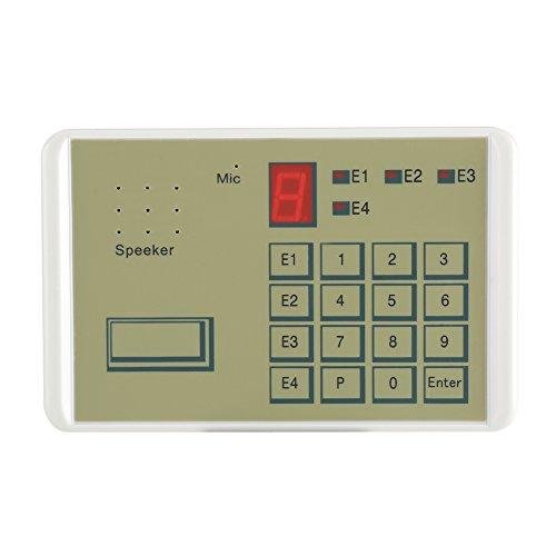 Fdit kabelgebonden auto dialer veiligheidsalarminstallatie 20 seconden voor de veiligheid in het huishouden en voor alle bedrijven