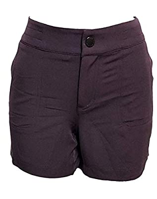 32 DEGREES Ladies' Hiking Shorts (Wine, 10)