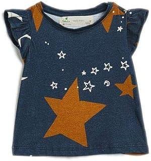 Camiseta Bb Malha Chao De Estrela Est Chao De Estrelas Noite - P