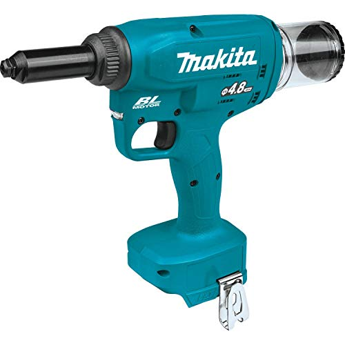 Makita XVR01Z 18V LXT Lithium-Ion Brushless Cordless Rivet Tool, Tool Only