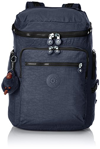 Kipling UPGRADE Mochila escolar, 46 cm, 28 liters, Azul (True Jeans)