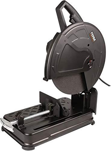 FERM Scie à tronçonner professionnelle 2300W - Lame de 355mm diamètre, 15,8Kg