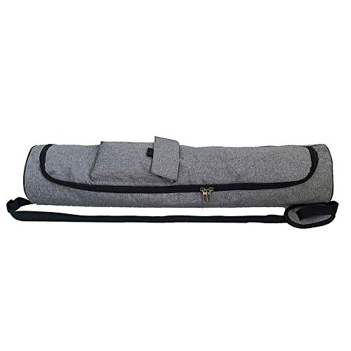 Wankd Bolsa para Alfombrilla de Yoga, Bolsa Yoga para - Justa y Ecológica - Funda Esterilla Yoga - Bolsa Esterilla Yoga - Bolsa para Esterilla De Yoga y Accesorios Yoga - Yoga Mat Bag