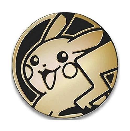 ポケモンカードゲーム ポケモンコイン [ピカチュウ] POKEMON GOLD CLEAR PIKACHU COIN